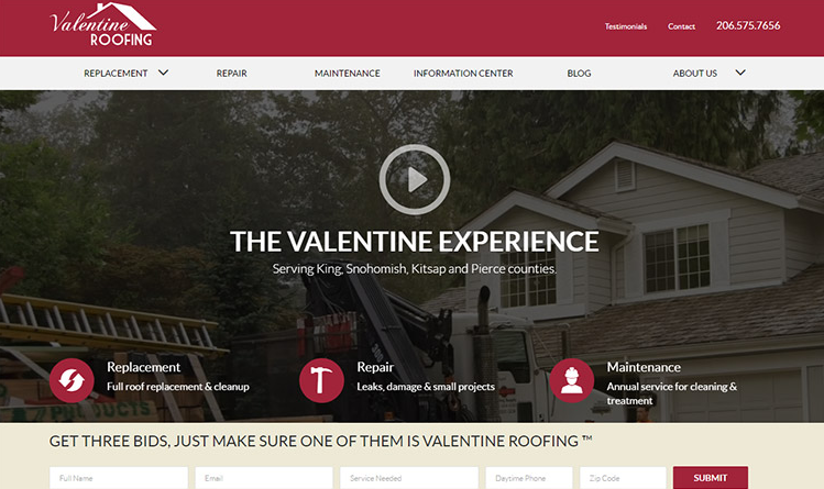 The 7 Elements of a Perfect Roofing Landing Page